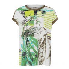 Olsen Dolman Botanic Print T-Shirt