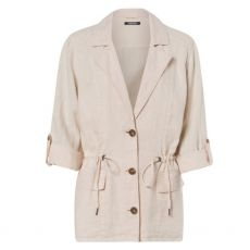 Olsen Linen Draw String Jacket