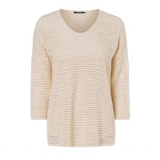 Olsen Open Knit Cream Jumper