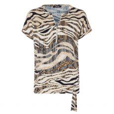 Olsen Zebra & Leopard Print T-Shirt