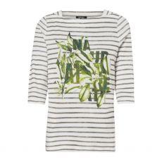 Olsen Hannah Striped Print T-Shirt