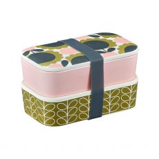 Orla Kiely Bamboo 2 Tier Lunch Box