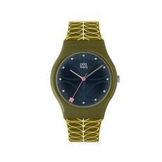 Orla Kiely Bobby Green/Navy Watch
