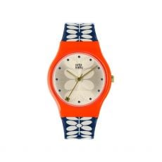 Orla Kiely Bobby Red/Navy Watch