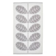 Orla Kiely Botanica Stem Grey Bath Towel