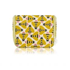 Orla Kiely Busy Bee Hanging Wash Bag