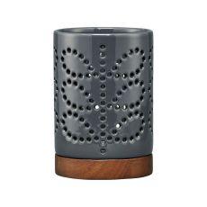 Orla Kiely Ceramic Lantern Linear Stem Graphite