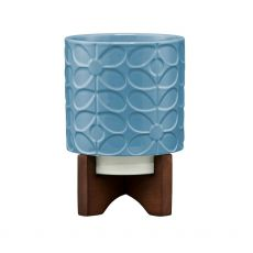 Orla Kiely Sixties Stem Sky Plant Pot