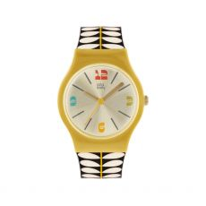 Orla Kiely Cream Stem Bobby Watch