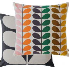 Orla Kiely Duo Stem Multi Feather Cushion