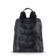 Orla Kiely Grey Multi Stem Backpack