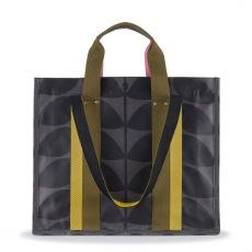 Orla Kiely Grey Multi Stem Voltaire Shopper