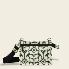 Orla Kiely Iveley Nouveau Ebony Crossbody