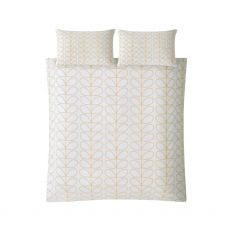 Orla Kiely Linear Stem Dandelion Double Duvet Cover
