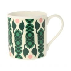 Orla Kiely Lobster Pot Teal Mug