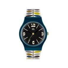 Orla Kiely Multi Stem Print Blue Watch