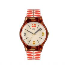 Orla Kiely Orange Stem Bobby Watch