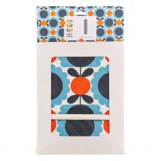 Orla Kiely Scallop Flower Sky Double Oven Glove