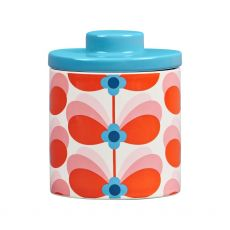 Orla Kiely Storage Jar - Butterfly Stem Bubble Gum