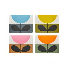 Orla Kiely Set of 4 Sunflower Placemats