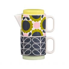 Orla Kiely Tea for One - Scallop Flower Forest
