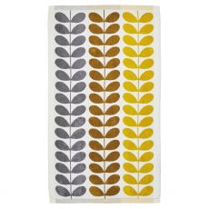 Orla Kiely Trio Stem Dune Bath Towel