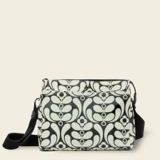 Orla Kiely Fielder Ebony Crossbody Bag