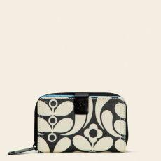 Orla Kiely Frankie Ebony Foldout Wallet