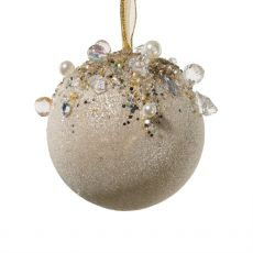 Ornate Jewelled Ball Decoration