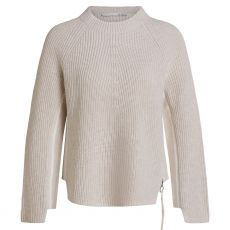Oui Two Tone Knitted Sweater