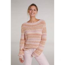Oui Cotton Knit Pink Jumper