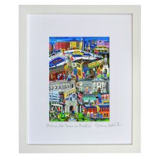 Simone Walsh Medium Frame 'Out On The Town In Dublin'