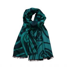 Patrick Francis Celtic Reversible Green Scarf