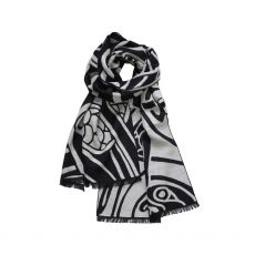Patrick Francis Celtic Reversible Grey Scarf