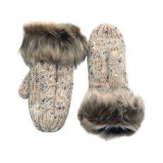 Patrick Francis Oatmeal Wool Mittens