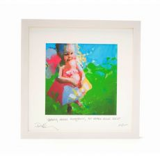 Paul Maloney Granny Knows Everything but Mother Knows Best Frame 16 x 16