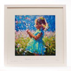 Paul Maloney Childhood is a Short Season 16x16 Framed Print