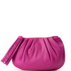 Peelo Pink Leather clutch bag