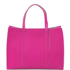 Peelo Pink Leather Tote bag