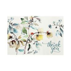 Peter Pauper Press Asian Botanical Thank You Notes