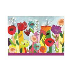 Peter Pauper Press Brilliant Floral Note Card
