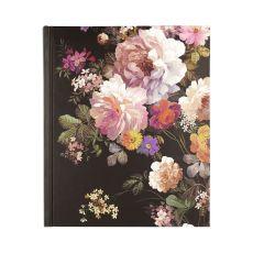 Peter Pauper Press Midnight Floral Journal