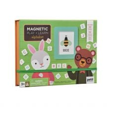 Petit Collage Alphabet Magnetic Play And Learn