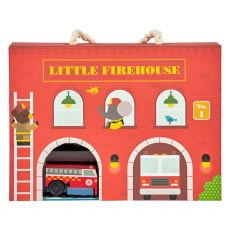 Petit Collage Fire Station  Playset