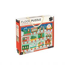 Petit Collage Floor Puzzle Christmas Train