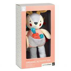 Petit Collage Organic Bunny Toy