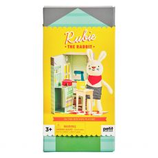 Petit Collage Rubie the Rabbit Playset
