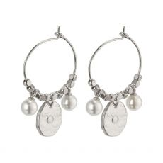 Pilgrim Affection Silver Earrings