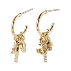 Pilgrim Anet Gold Earrings