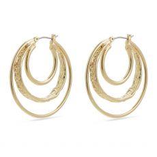 Pilgrim Earrings Valkyria Gold Plated